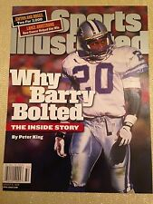 August 9, 1999 Barry Sanders Detroit Lions Sports Illustrated NO LABEL