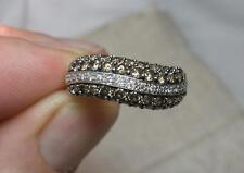 Le Vian Chocolate White Diamond Ring 1.1ct Honey 14K Gold Wedding Engagement