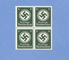 Mint stamp block / PF06  / Nazi Swastika / MNH Block /  1934 Third Reich Issue