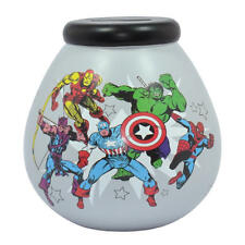 MARVEL COMICS POT OF DREAMS CERAMIC MONEY BOX PIGGY BANK SAVINGS THOR IRON HULK