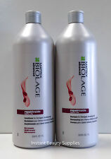 Matrix Biolage Repair Inside Shampoo and Conditioner Liter 33.8 Duo Damaged Hair