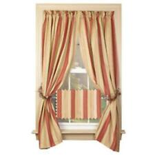 SALE/ new Country House PROVIDENCE striped window panels