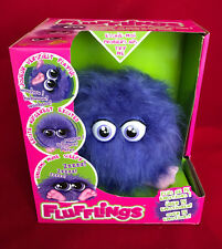 FLUFFLINGS LOCO - EMOTIONS - SOUND - PURPLE FLUFF BALL BIRTHDAY PARTY TOY GIFT