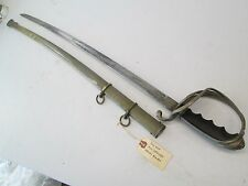 WWI OR WWII US MODEL 1902 SWORD WITH SCABBARD ALLEN NY MAKERS MARK BLADE #T92