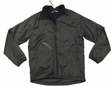 Quiksilver OFFICER Mens Lightweight Insulate Zip-up Jacket Medium Black NEW