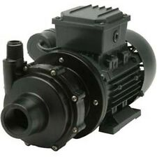 Commercial CHEMICAL PUMP - PVDF - 1/4 HP - 115V - 1 PH - 21 GPM - Magnetic Drive