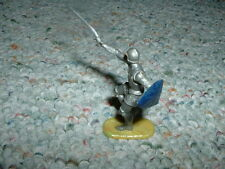 Elastolin 40mm Armoured Knight Mediaeval lunging with sword I