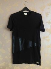 Fi5th. Mens Black Long Tshirt Size:2 Brand New