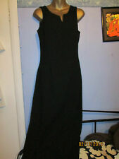 LONG BLACK EVENING DRESS SIZE 10  DOROTHY PERKINS GREAT FOR A PARTY