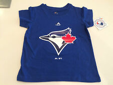 Toronto Blue Jays Kids Toddler Age 4T MLB Baseball Team Logo T Shirt Majestic