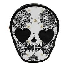 Women Cute Punk Style Skull Head Messenger Shoulder Crossbody Bag Handbag Purse