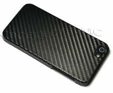 New Black Carbon Fiber Design hard case back cover skin for iphone 5 5s SE