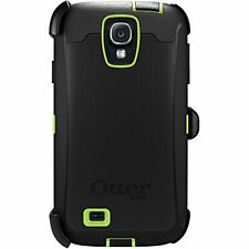 NEW Otterbox Defender Series case & Belt clip for Samsung Galaxy S4 -Black Green