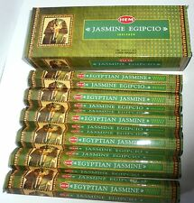 Egyptian Jasmine   INCENSE e 120 9.25 inch STICKS HAND ROLLED INCENSE HEM HI-20