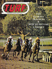 TURF AND SPORT DIGEST April 1976 Horse Racing