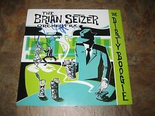 BRIAN SETZER STRAY CATS Signed THE DIRTY BOOGIE ALBUM FLAT LP POSTER