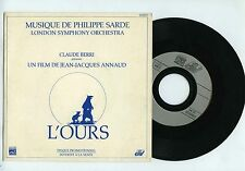 45 RPM SP PROMO OST PHILIPPE SARDE L'OURS