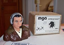 1980's MGA Enterprises WWII Pilot For 1/5 Scale RC Airplane With Box Unused+NOS!