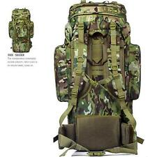 Travel Hiking Camping Hunting Backpack Oxford Bag men outdoor rucksack march 70L