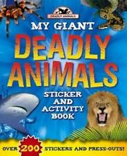 Deadly Animals (Giant S & A Deadly Animals - Igloo Books Ltd) (Giant Sticker and