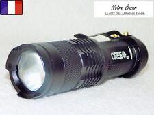 Mini Lampe Torche ampoule à Led 7w 1200 Lm Cree Q5 Pile AA
