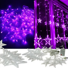 2M 168 LED Star Outdoor Indoor String Fairy Light Christmas Xmas Tree Decor Lamp