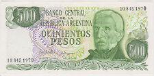 (WP-3) 1976 Argentina 500 pesos bank note UNC (C)