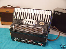 Lo Duca Bros 120 bass Accordion 3/5 Reeds 5-2  reg. Grey Accordian VGC  Italy