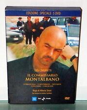 5  DVD IL COMMISSARIO MONTALBANO  Cofanetto   Rai Trade Edizione Speciale