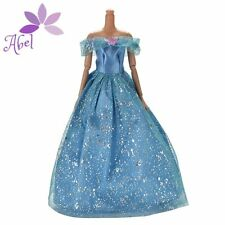 New Fashion Handmade Princess Dress Wedding Clothes Gown for Barbie Doll