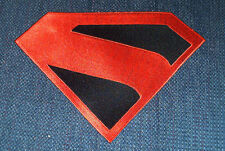 Superman Embroidered Emblem Logo Cosplay Kingdom Come Version