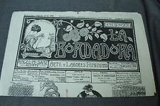 ANTIQUE FEB 25 1926 EMBROIDERY JOURNAL w/ PATTERNS, LACES, ALPHABETS, MONOGRAMS