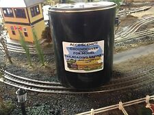 1/2 ga. Accu-Scene groundcover-for your  model train layout