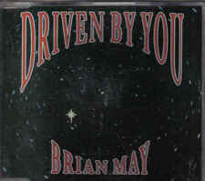 Brian May-Driven By You cd maxi single (Queen)