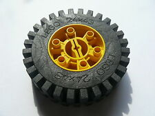 Lego 1 roue jaune set 8862  / 1 yellow wheel