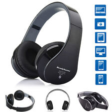 Foldable Bluetooth 3.0 Stereo Headphones Headset For Samsung Galaxy Note 2/3/4/5