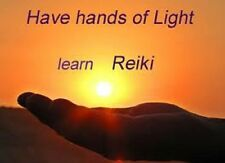 Reiki Home Study Master Level 1+2+3 Program with Certificate, be a Reiki Master