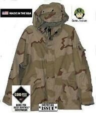 US Army 3 color Desert DCU Goretex ECWCS Cold Weather Jacke Parka Large Regular