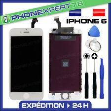 VITRE TACTILE + ECRAN LCD RETINA SUR CHASSIS POUR IPHONE 6 BLANC + OUTILS