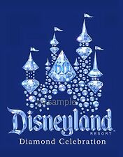 Calif - DISNEYLAND 60 - Diamond Celebration #1 - Travel Souvenir Fridge Magnet