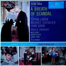 A BREATH OF SCANDAL - ALESSANDRO CICOGNINI - IMPERIAL LP - SOPHIA LOREN COVER