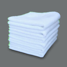 6 Pack Car Wax Polishing Microfiber Ultra Soft SPA Cleaning Towel Cloth White