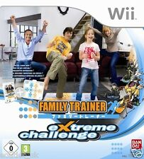 Family Trainer Extreme Challenge Game for Nintendo Wii New Sealed PAL (no mat)