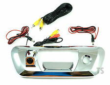CHROME TAILGATE BOWL WITH CAMERA FOR NISSAN FRONTIER NAVARA NP300 D23 2015-ON