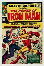 Tales Of Suspense #58 NM+ 9.6 OW pages 1964 Iron Man vs Captain America battle