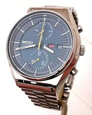 Vintage Rare Seiko 6138-3000 Jumbo 42mm Automatic 21J Day/Date Chronograph Watch