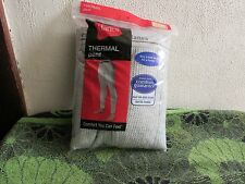 NEW~ MEN'S HANES THERMAL PANTS SZ. 4X (54-56) . (3X FOR A LOOSER FIT).