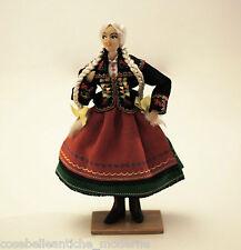 Rara Bambola d'epoca degli anni 50 con vestiti Vintage Ancient Old Doll Antique