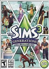 The Sims 3 Generations Expansion Pack PC MAC DVD ROM Game