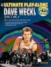 Dave Weckl Ultimate Play-Along Drums Level 1 Learn to Play Music Book 2 & CD
